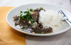 Spicy Beef Curry recipe, plus some pressure cooker fun.