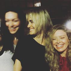Orange is the New Black - Laura Prepon , Taylor Schilling, and Natasha Lyonne