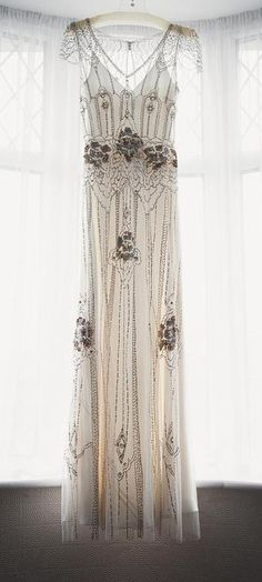 Jenny Packham. This is stunning. I have no where to wear this, and I'm sure I'm not thin enough-but this, I love...