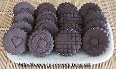 Domácí sušenky Oreo   Babčiny recepty