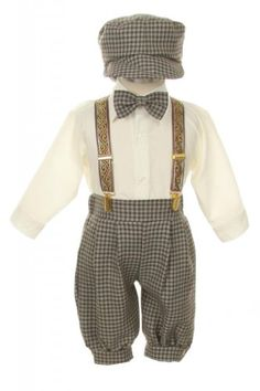 Amazon.com: Vintage Dress Suit-Tuxedo Knickers Outfit Set Baby Boys & Toddler-Navy-Blue Pinstripe: Infant And Toddler Tuxedos: Clothing