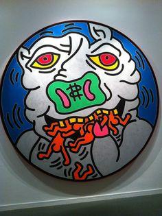 Keith Haring (The Political Line), Musée d'Art Moderne de Paris, France