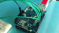 Controlling pins over the internet with the Arduino Ethernet Shield. on Vimeo Arduino Home Automation, Open Source Hardware, Arduino Projects, Drones, Raspberry, House Ideas, Internet, Coding, Science