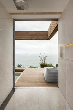 """life1nmotion: """" Minimalist Interiors Design with Natural Light and Breathtaking Views of the Ocean """""""
