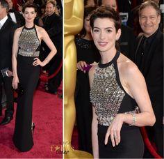 Oscar 2014: Anne Hathaway