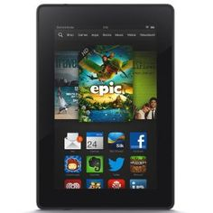 Everyone Wants Kindle Fire HDX Tablets. The latest and greatest tablets from the Kindle Fire series are the HDX 7 and Featuring Perfect Color technology with the latest displays. This will be the hottest Christmas gift of 2013 for anyone who Kindle Fire Tablet, Amazon Kindle Fire, Smartphone, Dolby Audio, Computer Hardware, Computer Accessories, Wi Fi, Shopping, Tents