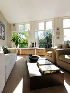 Light filled lounge room