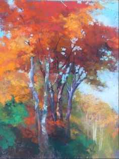 Pastels — Aline E. Ordman
