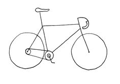 The perfect card for all those bicycle enthusiasts, whether they be MAMILs, triathletes or cheerful commuter bikers. A simple line drawing, printed on beautiful A6 card. Available in packs of 6. ©Helen Hugh-Jones 2017