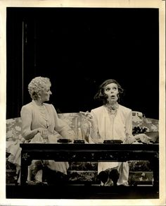 1987 Vintage Photo Scene from Play Legends Actress Mary Martin Carol Channing | eBay