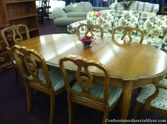 Dining Table Makeover, Take One