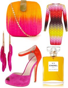 """Rocking that Pink!"" by lashan-leree-hunt on Polyvore"