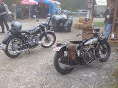 Motorräder, die damals Roßfeldrennen gefahren sind ...