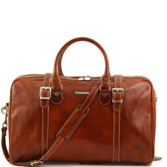 Tuscany Leather Berlin Travel Bag Small
