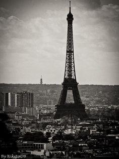 Paris. By NikitaDB. Tour Eiffel.