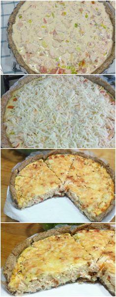 A TORTA SALGADA MAIS GOSTOSA DO MUNDO! ANOTE ESSA RECEITA DELICIOSA! (veja como fazer) #torta #tortasalgada
