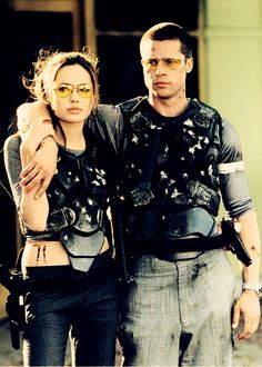 mr. & mrs. smith. - in general I'm not a fan of them but this movie was just fun.