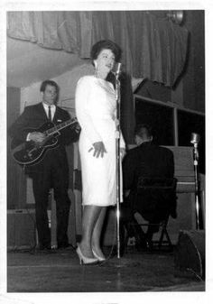 Patsy Cline, on stage in Birmingham, AL on March 2, 1963.      http://www.patsified.com   http://www.facebook.com/patsified