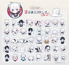 Discord Emotes, Pusheen Love, Cute Anime Chibi, Cover Songs, Line Sticker, Original Song, Otaku Anime, Poses, Awesome Anime