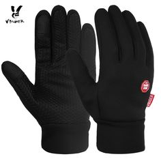 GLOVES VBIGER Waterdicht Winter Warm Handschoenen Winddicht Outdoor Handschoenen Dikke Warme Wanten Touchscreen Handschoenen Unisex antislip Ontwerp #aliexpresschina #aliexpressideas #AliExpress  #gloves