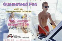 The 2016 Houston Boat Sport & Travel Show January 8-17, 2016 http://aishouston.com/index.php?option=com_content&view=article&id=670:61st-annual-houston-boat-show&catid=126&Itemid=802