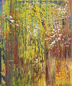 Gerhard Richter Abstraktes Bild oil painting reproductions for sale