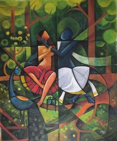 Love Birds by Cheenu Pillai