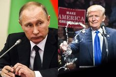"""The Alleged Trump-Putin """"Golden Shower"""" Fiasco, Explained Are claims that Russia is blackmailing the president-elect a bombshell, or more anti-Trump hysteria? We'll know soon enough.  Left, by Mikhail Svetlov, right, from The Washington Post, both from Getty Images."""