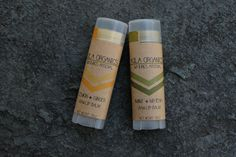 double up - 2 pack | 2 piece raw lip balm set