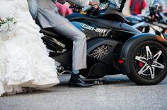 Fola Lawal Photography Presents Oyedamola and Esther's White Wedding #wedding #motorcycle