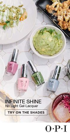 The shades you need for Spring / Summer 2016 are ready for your fingers and toes in our professional three step system, Infinite Shine! Take on the heat with color & shine that lasts, available now in 8 new shades at your local salon!