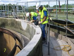 Adequate concrete removed to give access for treatment under re-bar, to provide a substantial anchor for replacement concrete repair.http://www.cracksnorthwest.co.uk/concrete-crack-repair-using-specialist-polymer-modified-concrete-repair-mortar.html