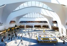 Artist's impression of the new New Street Station, complete in 2015. It's much more in keeping with the new city that the existing station. And it has John Lewis!