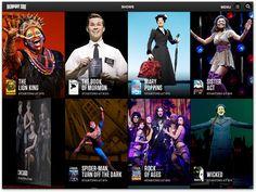 Broadway.com iPad app