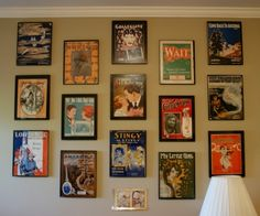 I want to do this with my 20's era sheet music since the cover art is beautiful. It will look fantastic in my piano room(when I get one).