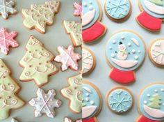 Oggi vi presentiamo la ricetta per preparare i Biscotti di Natale decorati con glassa e pasta di zucchero, dolcetti buonissimi ma anche bellissimi.
