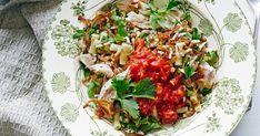 Turkey, rice and pasta salad