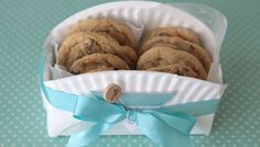 DIY Cookie Basket From Paper Plate