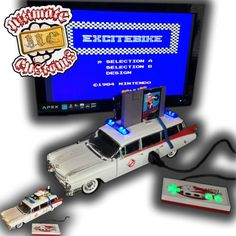 Dig This Totally Functionable Custom 'Ghostbusters' Ecto-1 NES - iHorror