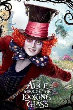 Alice returns to the fantastical realm of Underland and her friends. There she discovers that the Mad Hatter (Johnny Depp) has lost his Muchness, so the White Queen (Anne Hathaway) sends her on a quest to borrow the Chronosphere, a metallic globe inside the chamber of the Grand Clock that powers all time. Returning to the past, she embarks on a perilous race to save the Hatter before time runs out.