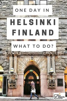 If you only have one day in Helsinki, Finland, of course you want to make the most of it! Let The Travel Tester guide you to some of the highlights of this city! Helsinki Things To Do, Santa Claus Village, Visit Helsinki, Finland Travel, Finland Trip, Baltic Cruise, Scandinavian Countries, Scandinavian Cruises, Lapland Finland