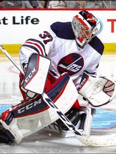 Goalie Pads, Goalie Gear, Hockey Goalie, Field Hockey, Hockey Players, Jets Hockey, Ice Hockey Teams, Nfl Fans, Detroit Red Wings