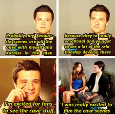 is it just me, or did Josh Hutcherson REALLY like filming the cave scene??