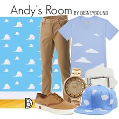 Disney Bound fan fashion Andy's Room from Toy Story!