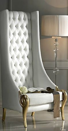 THIS!!!!!! Luxury Home Design- Lady Luxury chair, - HIGH BACK ARMCHAIRS