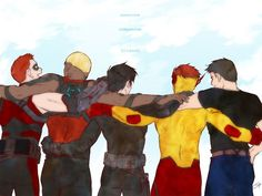 young justice boys - Google Search