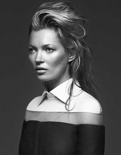 """labellefabuleuse: """"Kate Moss photographed by Bryan Adams for Zoo Magazine Fall 2013 """""""