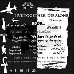 Lost Live Together, Die Alone
