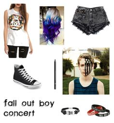 """""""Fall Out Boy Concert"""" by blurryfacee on Polyvore"""
