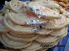 Extra decorative touch of Khaaja Roti - (खाजारोटि) -traditionally served along with other traditional Bhai-Tika food items. Tihar-Bhai-Tika is a festival which is observed to honor brothers by sisters.